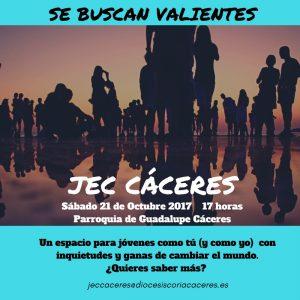 Encuentro_jóvenes_secundaria_universitarios_juventud_estudiante_catolica_caceres