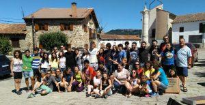 Grupo completo 30 años campamento JEC Palencia