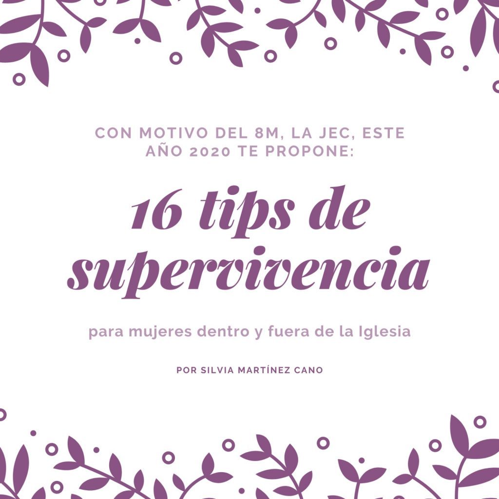 8M-jec-tips-supervivencia-silvia-martinez